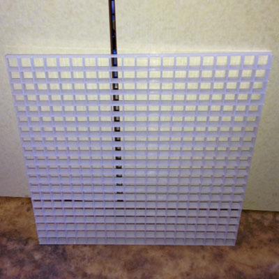 画像1: コーラルベースプレート ホワイト30cm