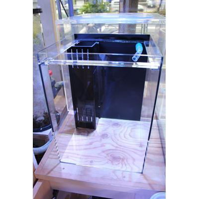 画像1: 30cmサイドフロー水槽セット
