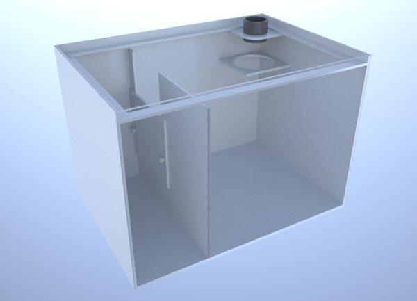 画像1: バリエーションサンプ2層式500 Right Type Basket Slide