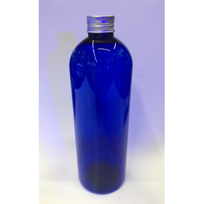 画像1: クリアブルー空ボトル 500ml