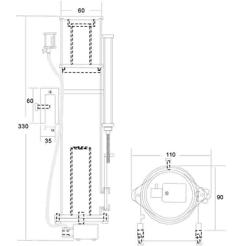 画像2: 【取寄】Wavereef NanoSkimmer Standard100