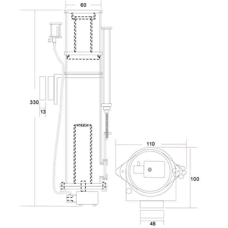 画像2: 【取寄】Wavereef NanoSkimmer Standard100M