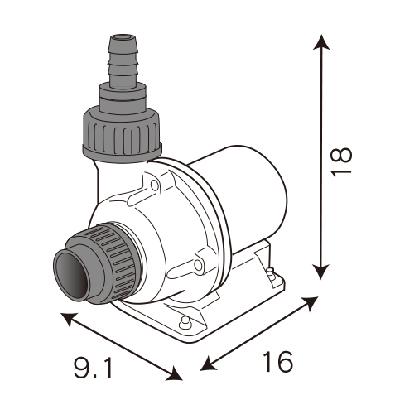 画像4: アルティメットアクアリウムDCポンプ3000