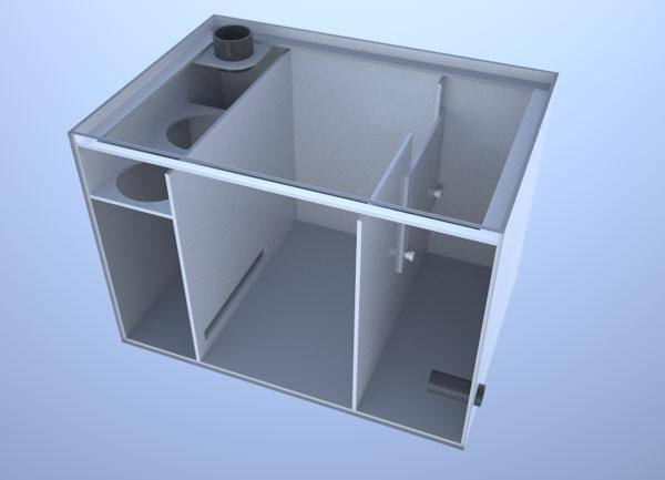 画像1: バリエーションサンプ3層式500 Left Type Slide&Socket