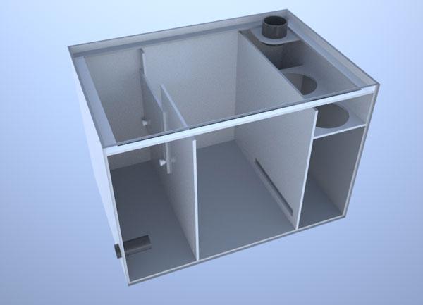 画像1: バリエーションサンプ3層式500 Right Type Slide&Socket