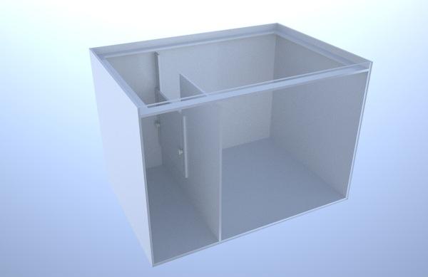 画像1: バリエーションサンプ2層式500 Right Type Normal Slide