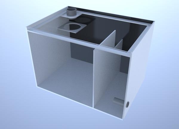 画像3: バリエーションサンプ2層式500 Left Type Basket&Socket