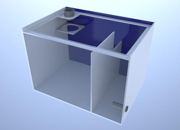 画像5: バリエーションサンプ2層式500 Left Type Basket&Socket