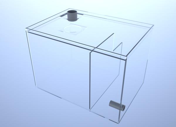 画像2: バリエーションサンプ2層式500 Left Type Basket&Socket