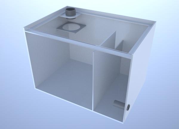 画像1: バリエーションサンプ2層式500 Left Type Basket&Socket