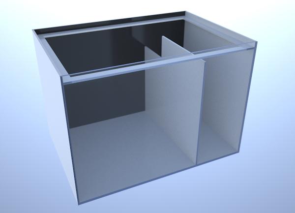 画像3: バリエーションサンプ2槽式500 LEFT Type Normal