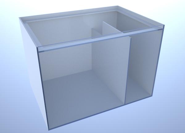 画像1: バリエーションサンプ2槽式500 LEFT Type Normal