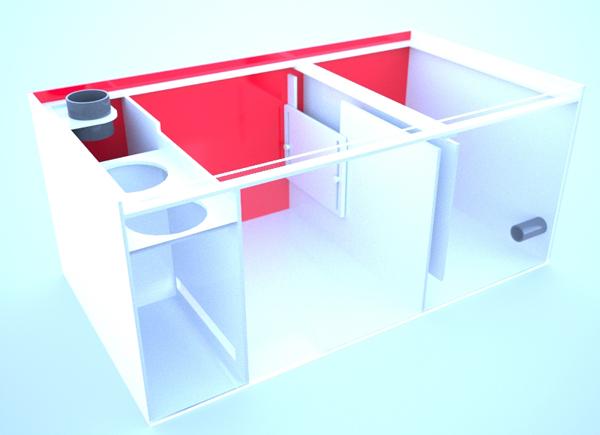 画像4: バリエーションサンプ3層式800AntiAir Left Type Slide Socket