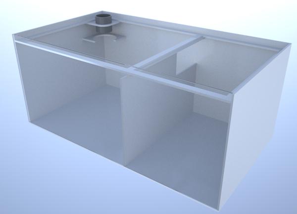 画像1: バリエーションサンプ2層式800 Left Type Basket