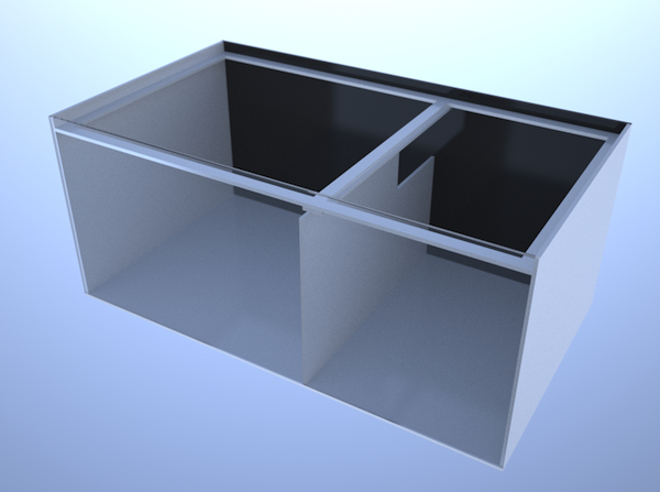 画像3: バリエーションサンプ2層式800 Left Type Normal